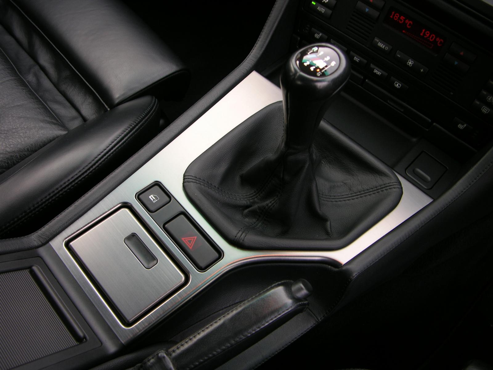 dźwignia zmiany biegów BMW