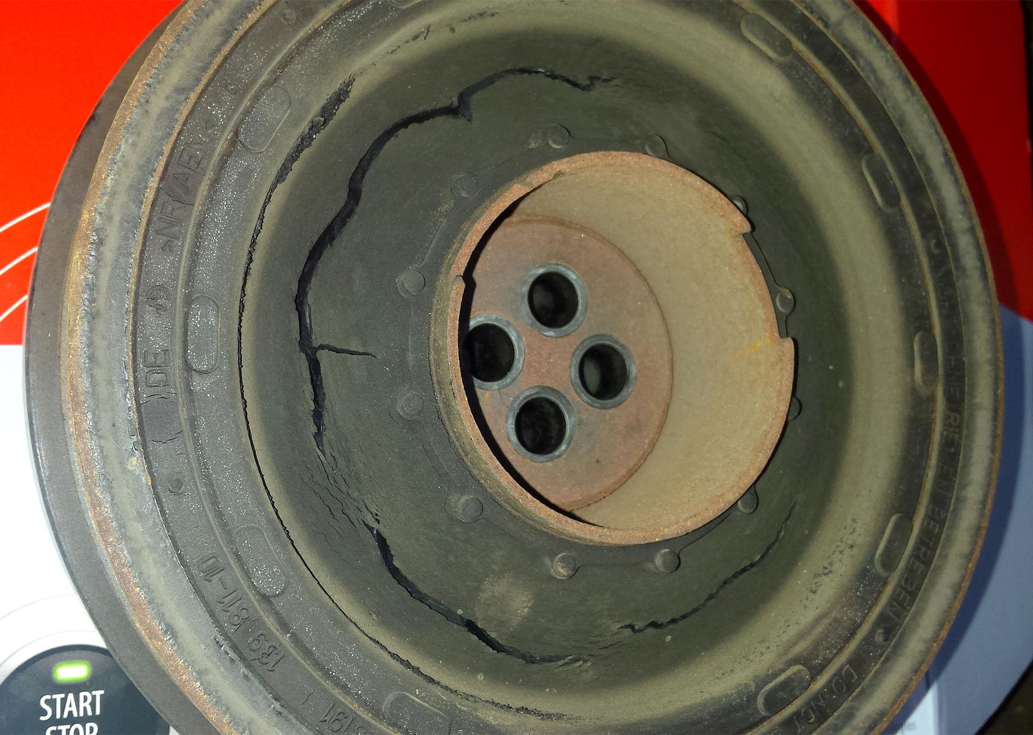 nieregularne stuki silnik bmw