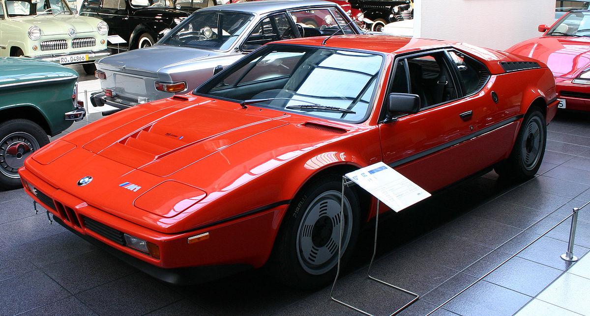 BMW M1 | CC BY-SA 3.0, via Wikipedia