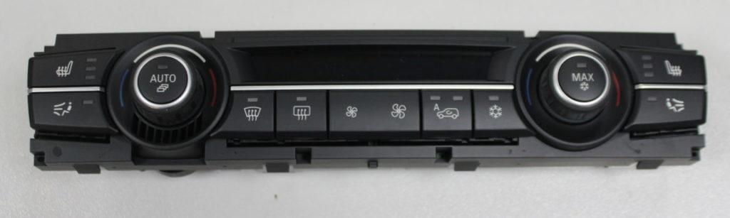 panel klimatyzacji bmw