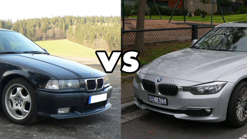 stare-vs-nowe modele samochodów