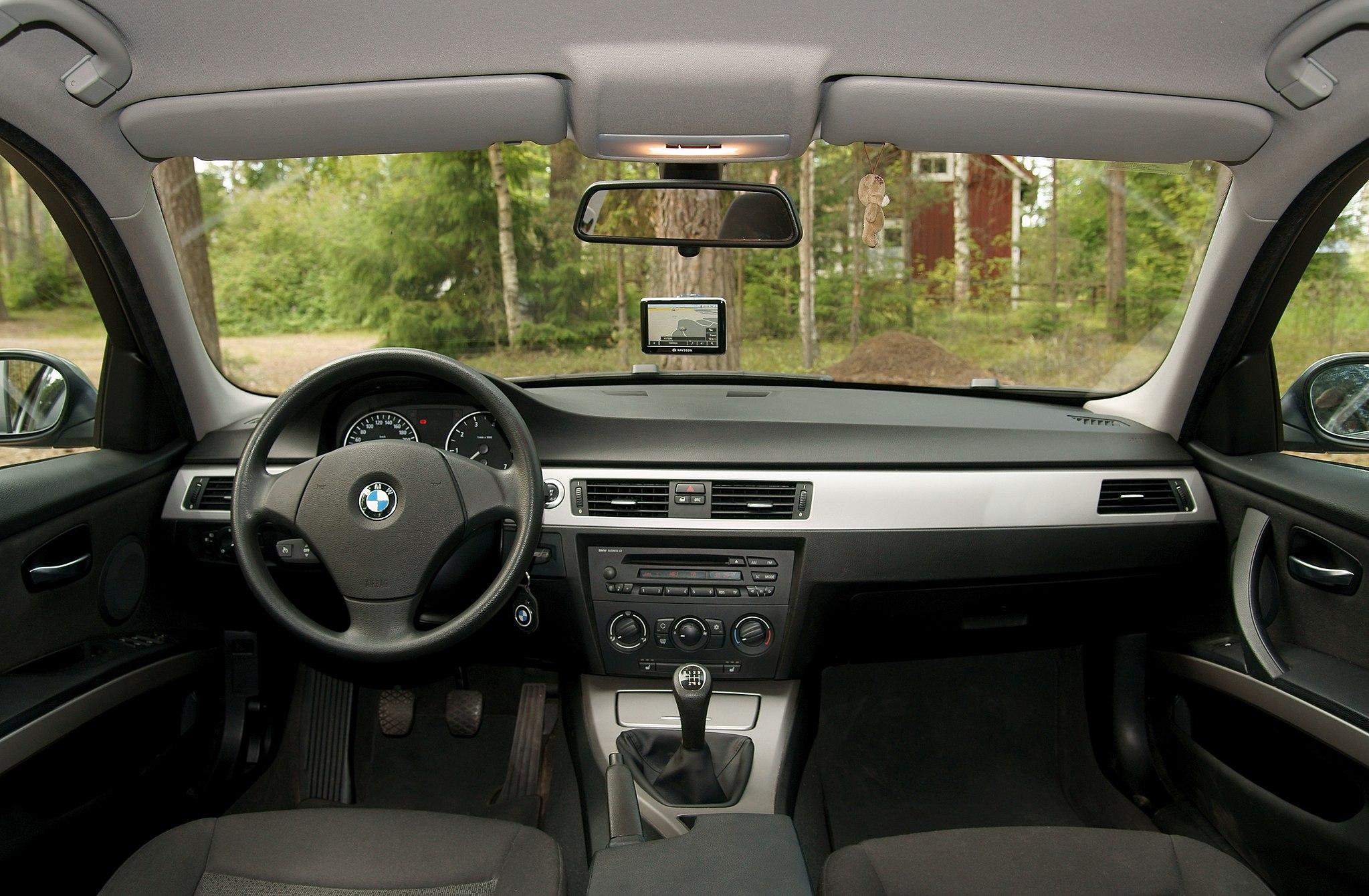 wnętrze BMW 3