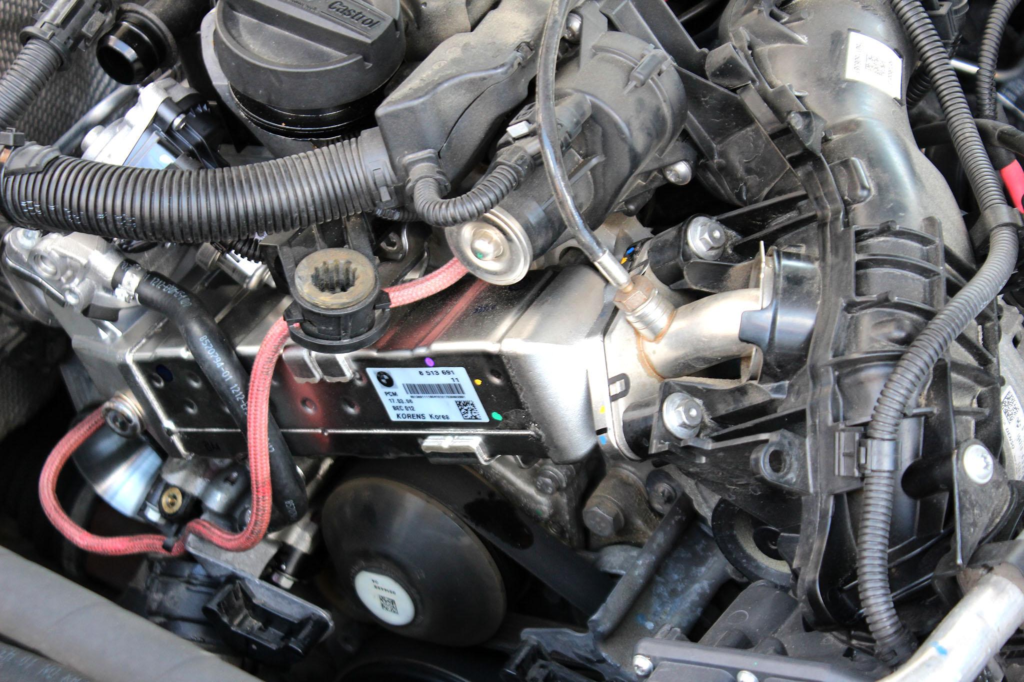 temperatura silnik bmw 5