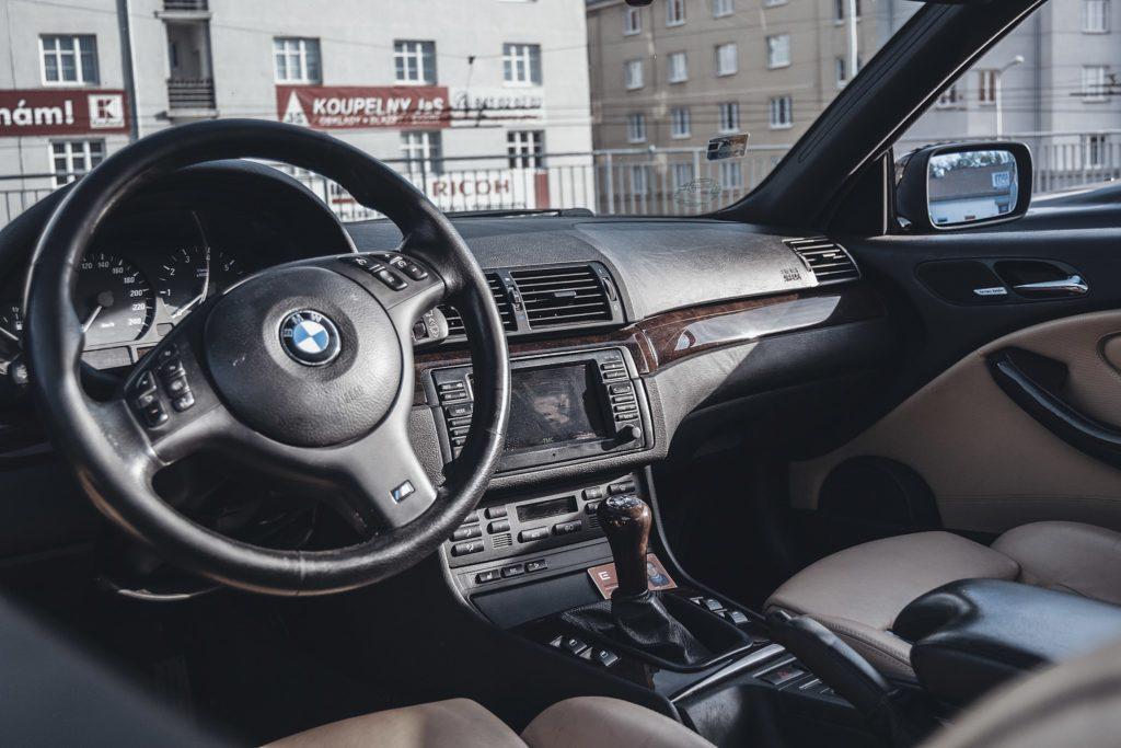 Wnętrze BMW 330i E46